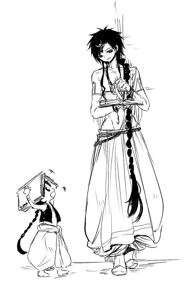 Father and son - Magi