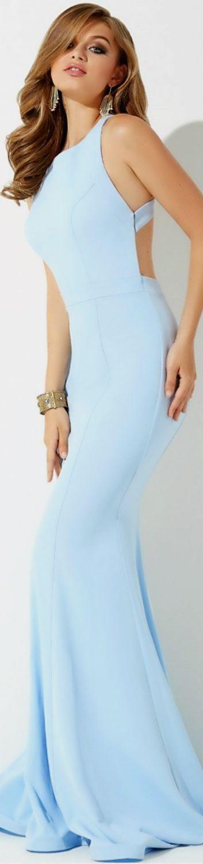 JOVANI Fitted Jersey Dress #UNK.