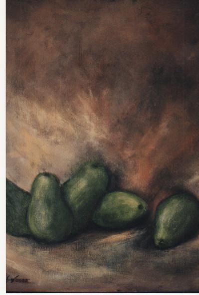 Avo's. acrylic on canvas