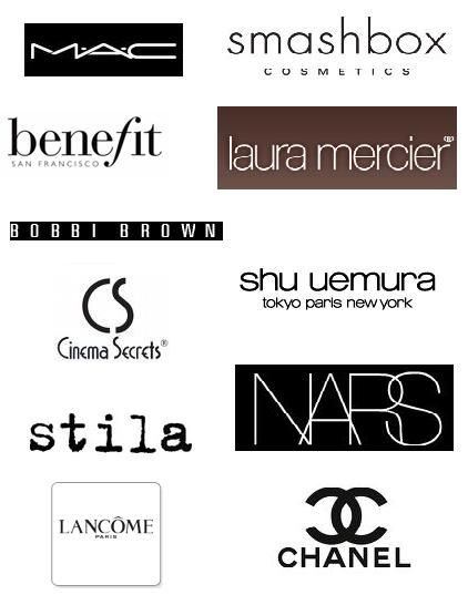 Leading makeup brand logo o