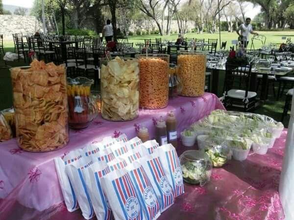 Candy Bar Salados
