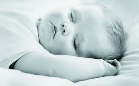 Sleeping baby = sleeping mamma!