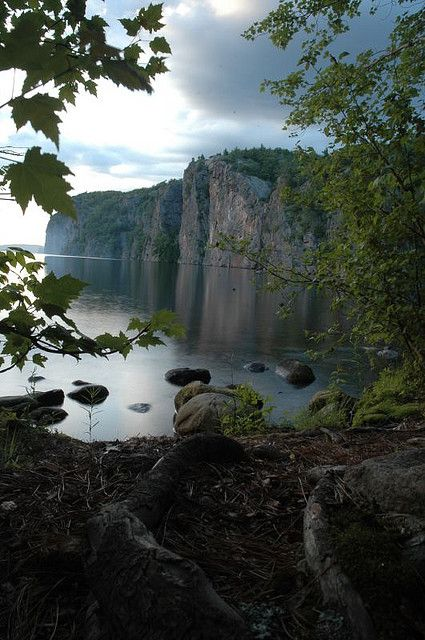 Bon Echo Provincial Park, Ontario,one of the best places to camp in ONTARIO