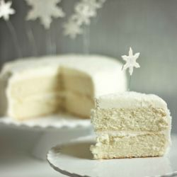 Another Pinner Said: White Christmas Cake Recipe ~ Says: The cake is