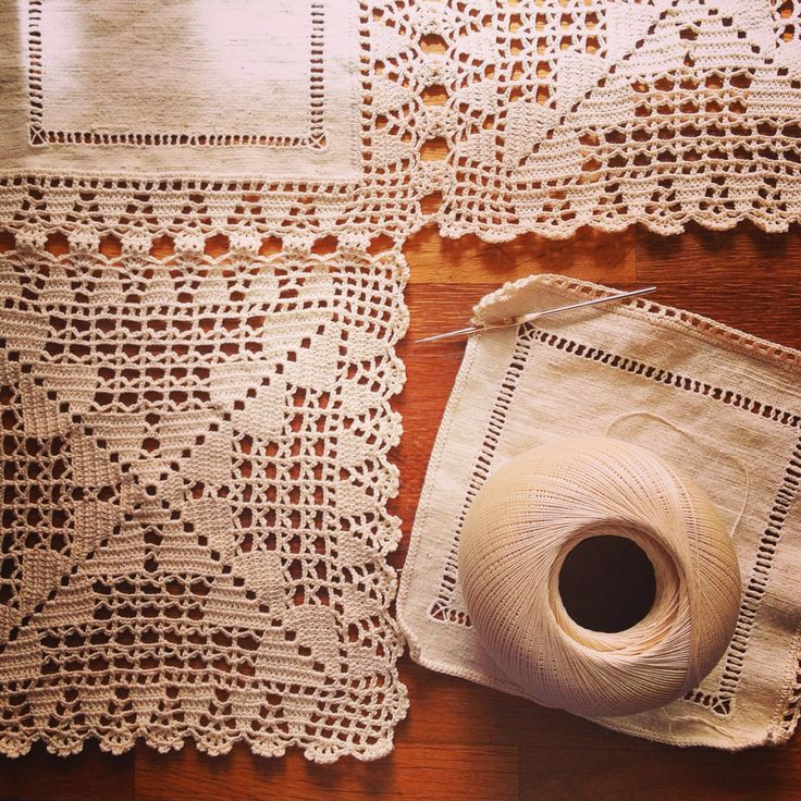 Old school crochet.  www.mybelovedcraft.com