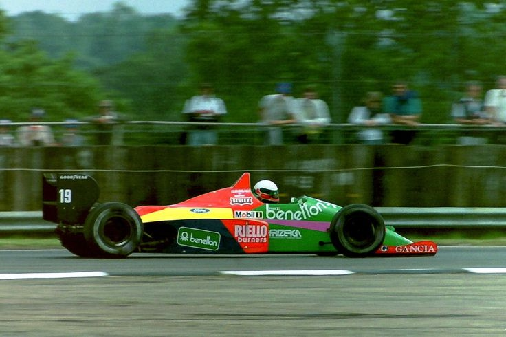 Teo Fabi (Great Britain 1987) by F1-history on deviantART