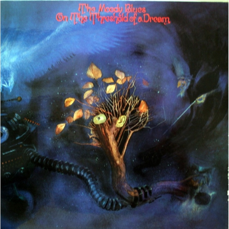 1969 The Moody Blues - On The Threshold Of A Dream [Deram SML1035] artwork: Phil Travers #albumcover #illustration