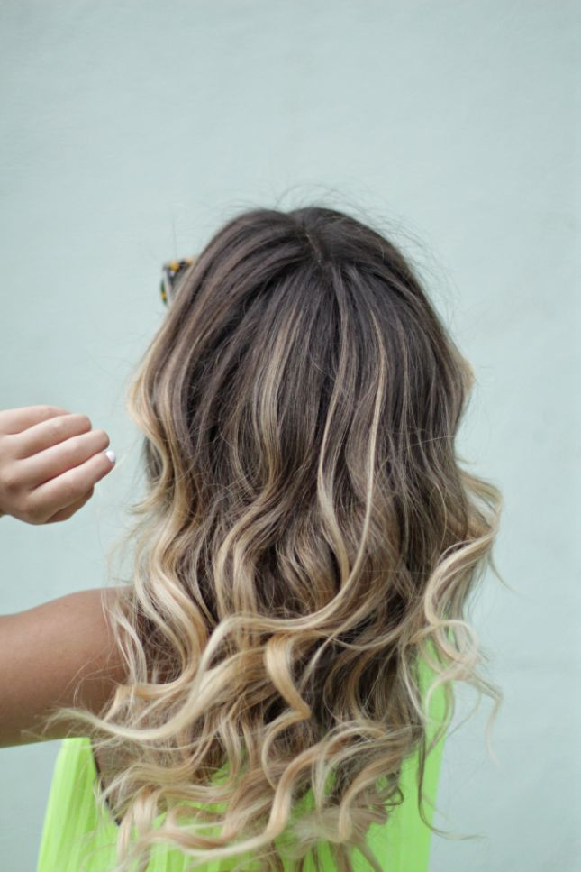 Go ombre for a new look.