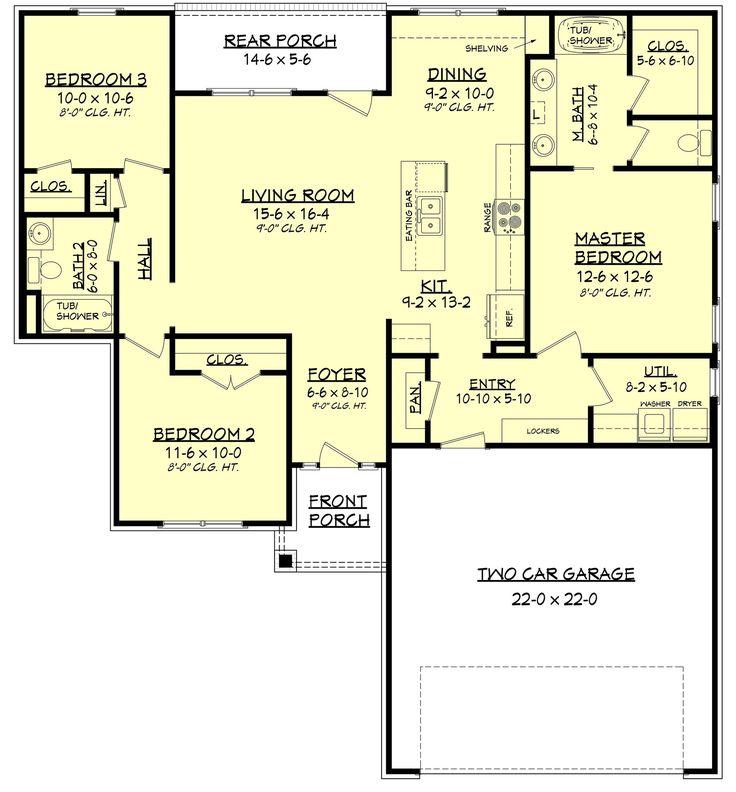 283 best Empty Nester House Plan Ideas images on Pinterest   Cottage ...
