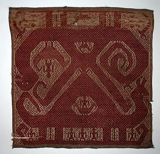 Ceremonial Textile (Tampan)  Date:     19th century Geography:     Indonesia, Sumatra, Lampung province Culture:     Lampung