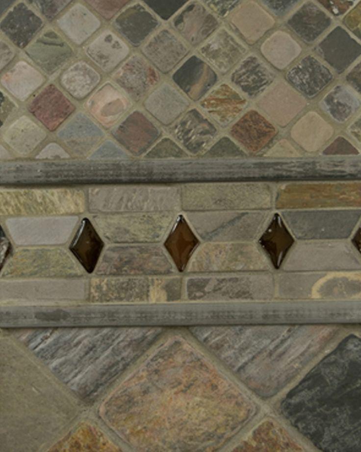 Slate Kitchen Backsplash Natural Stone Backsplash Tile Bathroom Tile Kitchen Tile