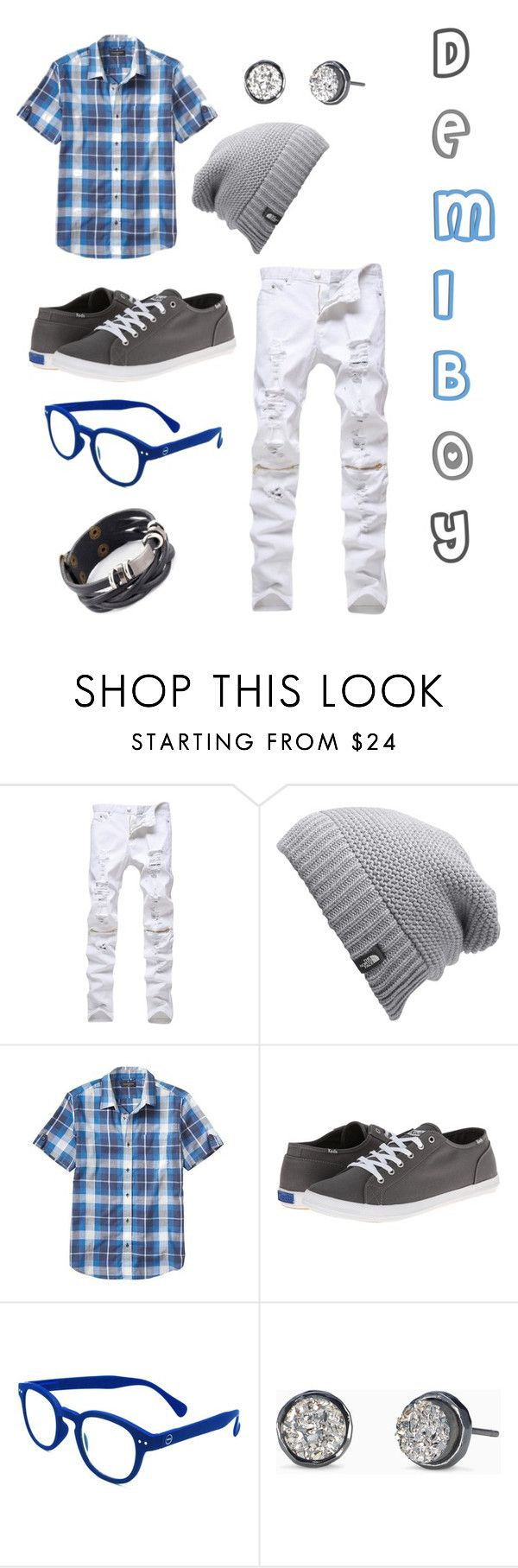 """Demiboy"" by nightskiesarebae on Polyvore featuring The North Face, Banana Republic, Keds, See Concept, Stella & Dot, men's fashion and menswear"
