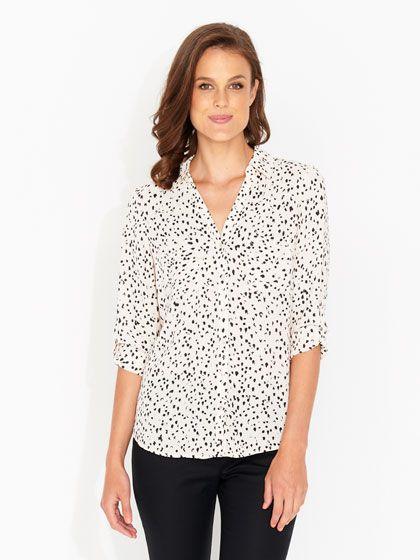 Piper Print Pocket Shirt