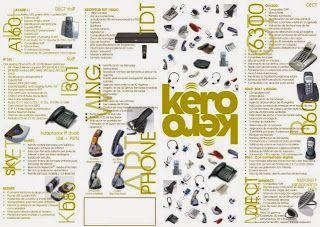 KERO innovación al servicio del usuario: NUEVOS TELÉFONOS DE SOBREMESA KERO, LOS DEL 4.