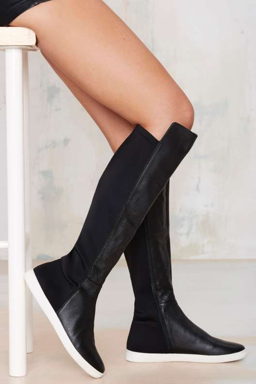 Immi Suede Lace Up Calf Boot Thanks It S New Sneaker