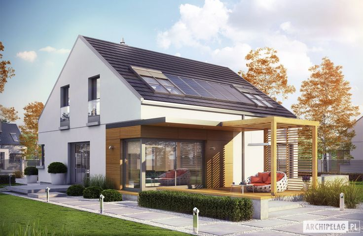 Projekty domów ARCHIPELAG - Edgar II G2 ENERGO PLUS