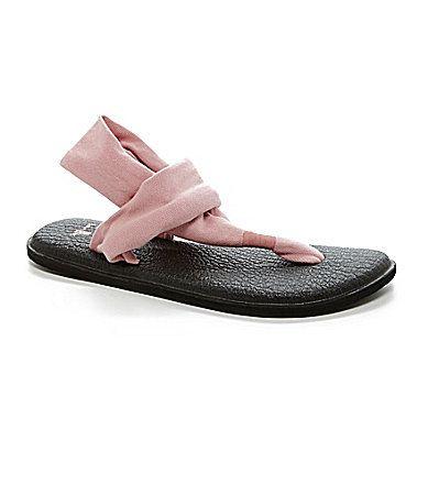 Sanuk Womens Yoga Sling Flip Flop Sandals #Dillards