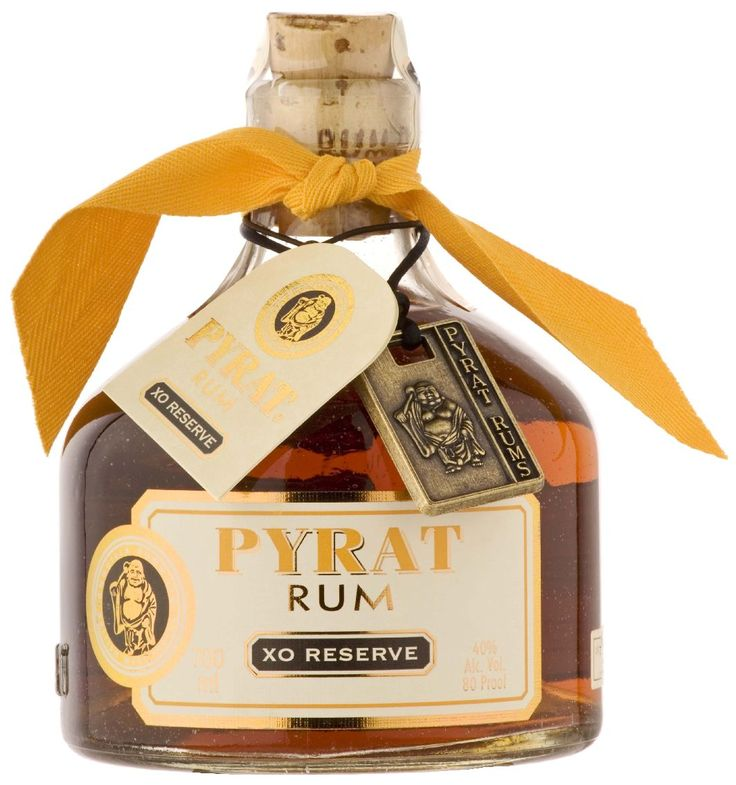 Pyrat Rum....good by itself as an after dinner sipper!