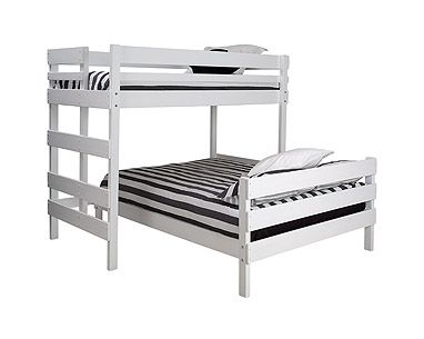 Mid-line high bed with double bed