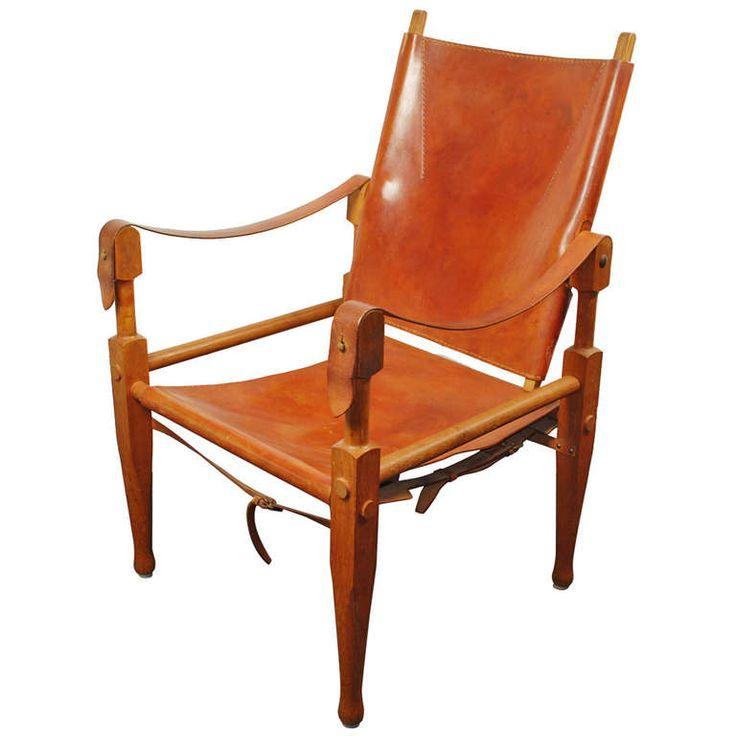 Wilhelm Kienzle 'Safari Chair', Wohnbedarf, Switzerland  #ModernsPIN