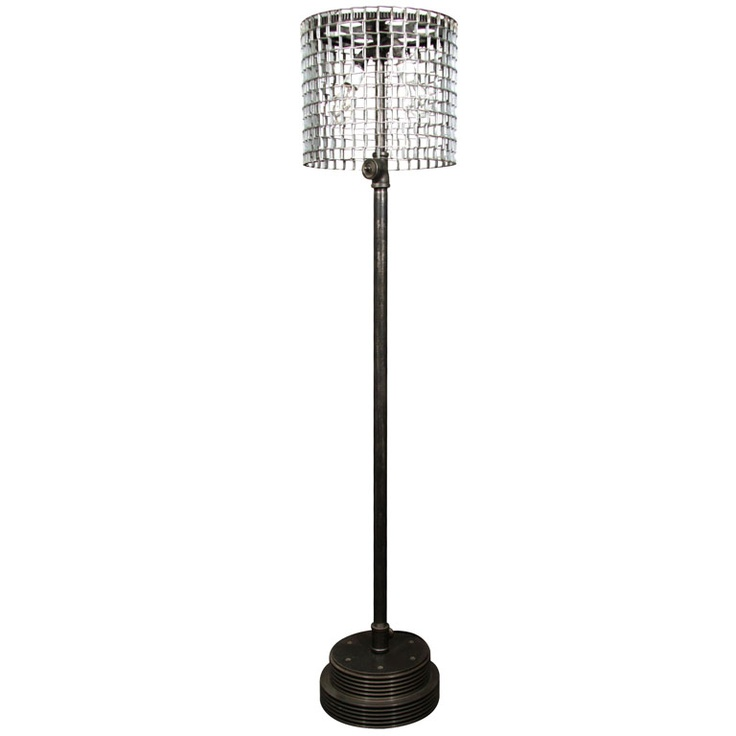 Industrial conveyor floor lamp