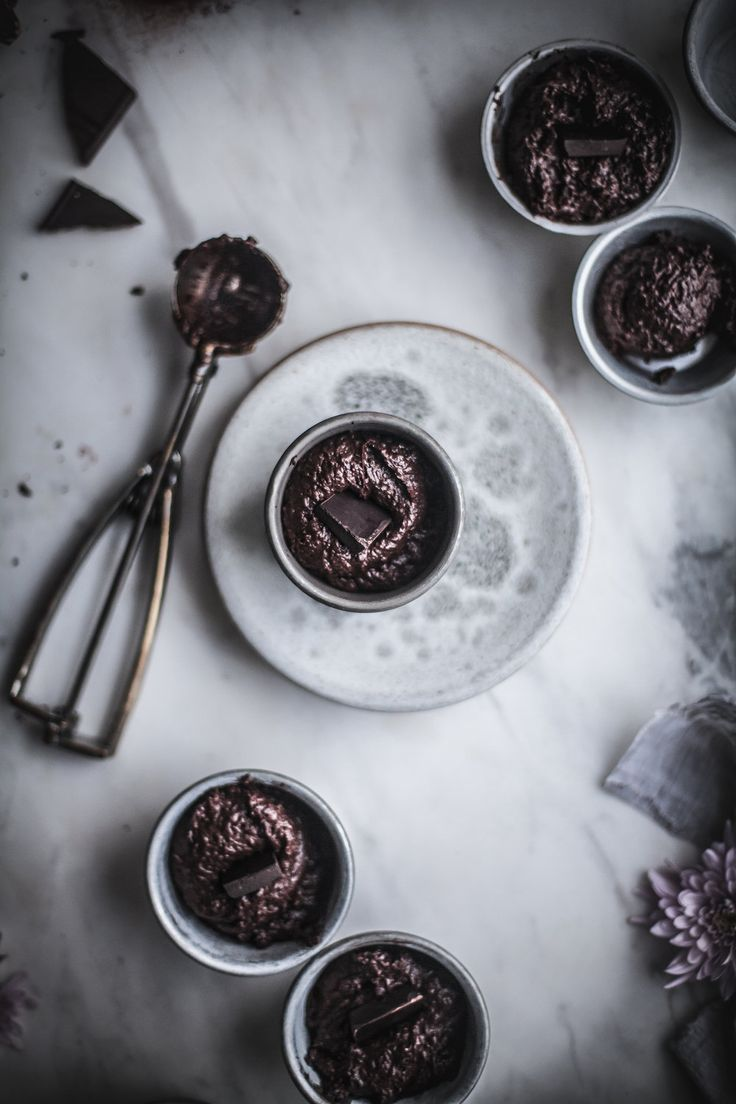 Vegan Molten Chocolate Cakes