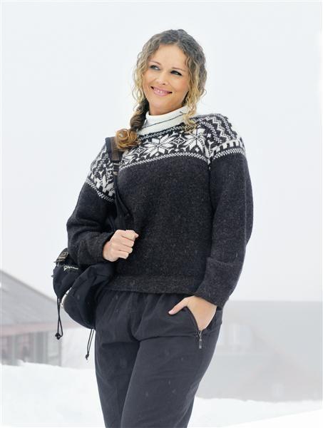 Tema 15: Modell 16 Selbu-genser #strikk #klassiker