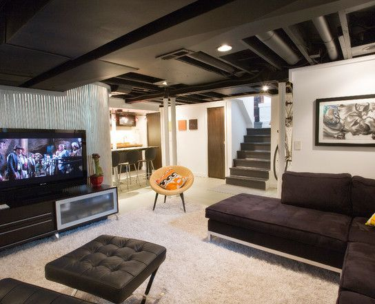 Modern Basement Remodeling Ideas   Google Search