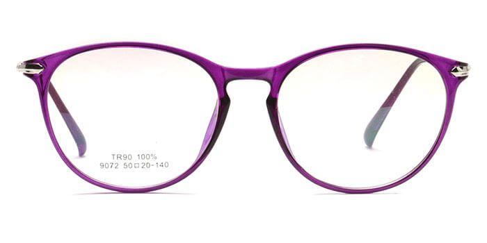 48e0e3008d Graviate E17C4588 Purple Full Frame Round Eyeglasses for Women ...