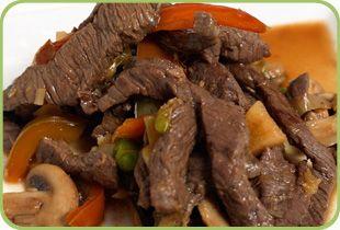 Thai Lime Beef stir fry