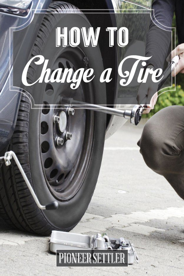 Essay on how to change a flat tire