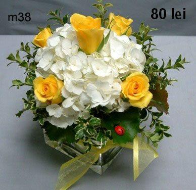 Buchet - aranjamente florale masa - Aranjamente florale nunta