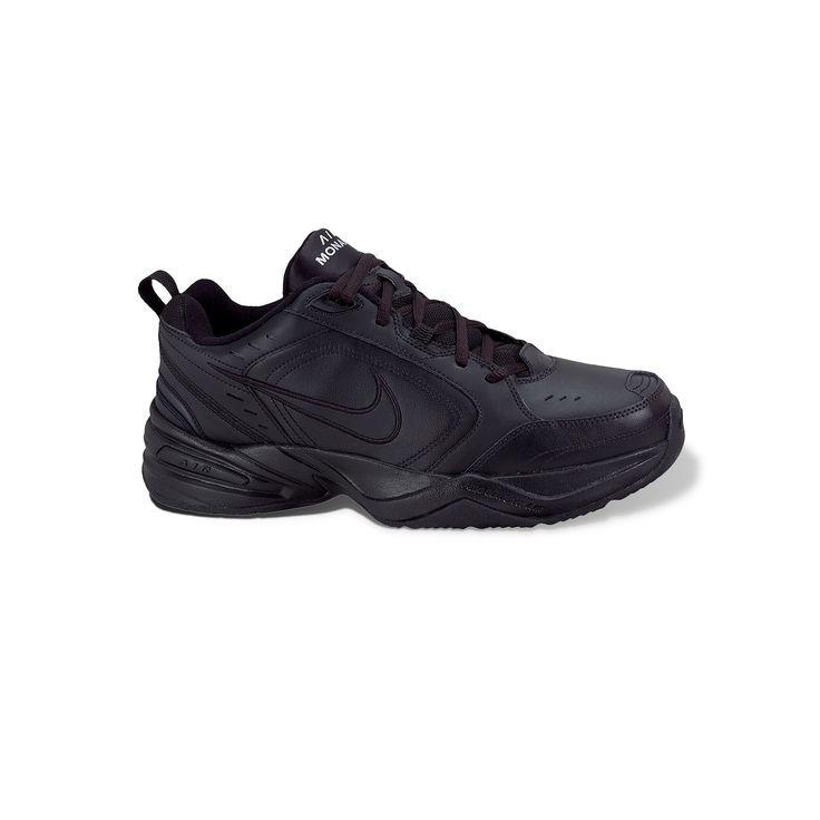 Nike Air Monarch IV Men's Cross-Training Shoes, Size: 10.5 4E, Black