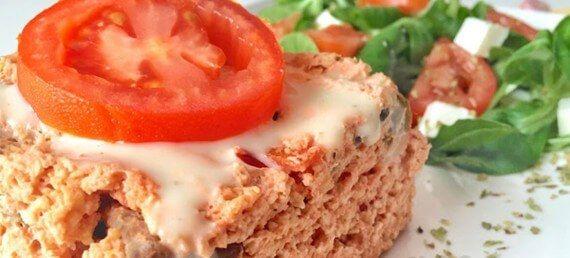 pastel de pollo kebab de 1000fitmeals