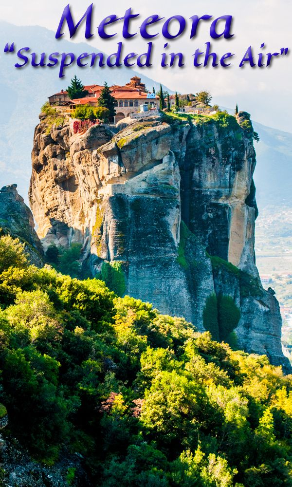 Check this hiking area off your bucket list! Read how! #meteora #greece