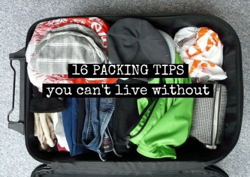 Tips for Packing Lighter