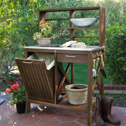 96 Best Images About Potting Bench On Pinterest