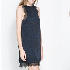 Dalina Leopard Lace blue Dress $55.00 http://www.helloparry.com/collections/new-arrival/products/dalina-leopard-lace-blue-dress