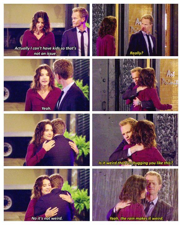 Barney and Robin HIMYM flashback moment, Awww.