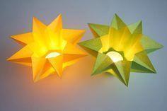 Windlicht Stern - Sonstige Sterne | Sterne Basteln - Basteln toller Sterne Mehr