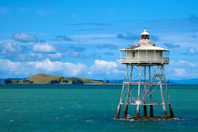On the Ferry to Waiheke Island, Auckland, New Zealand by Nathan Branch, via Flickr