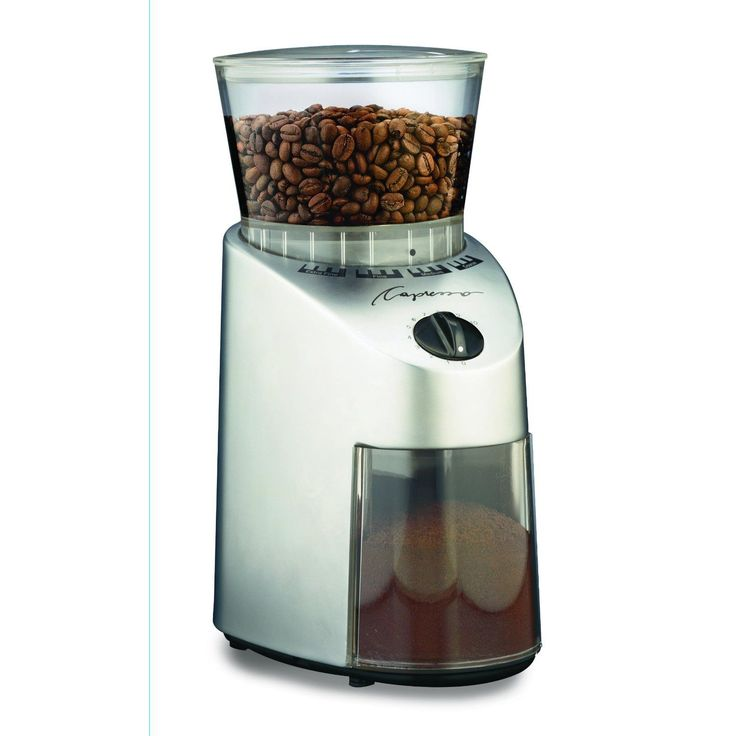 Capresso 565 04 Infinity Burr Grinder Brushed Chrome