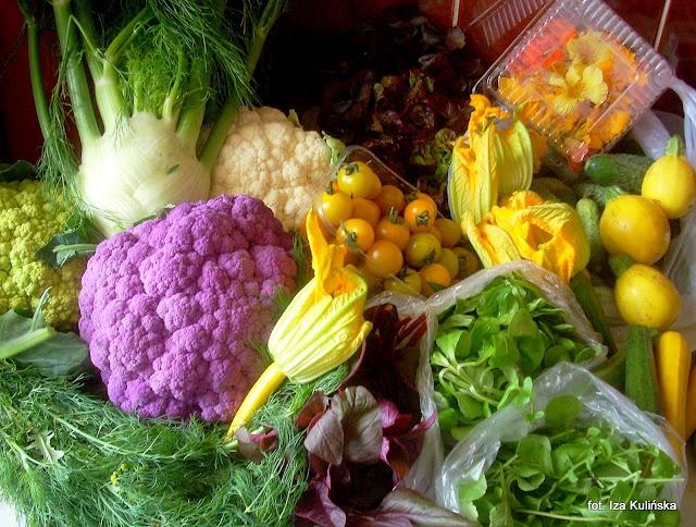 Smaczna Pyza - wczorajsze zakupy warzywne