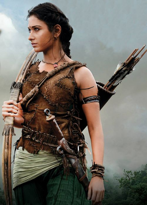 Tamannaah Bhatia in 'Baahubali: The Beginning' (2015).