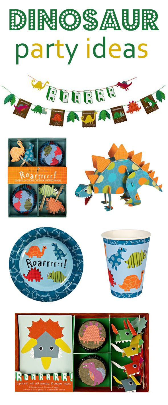 Dinosaur yParty Ideas - Pretty My Party