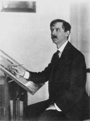 William Heath Robinson Portrait