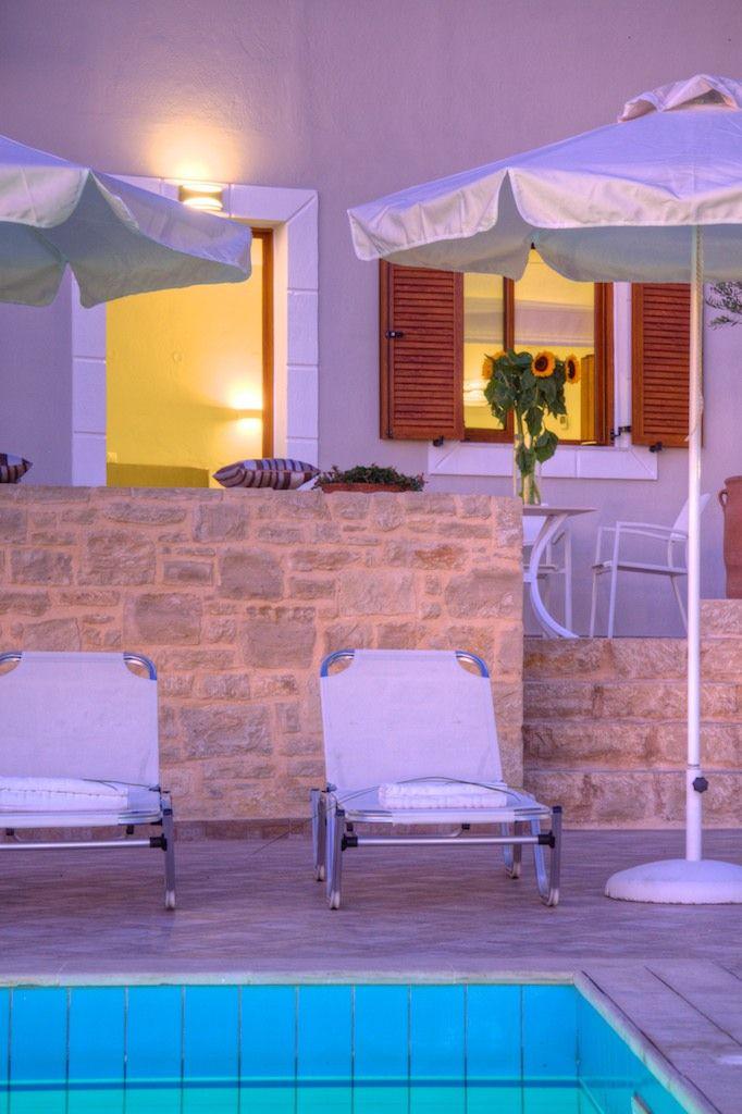 www.antigonivillas.com Villa Antigoni in Eleftherna #villa #rethymno #crete #greece #vacation_rental #private #holidays #luxury #luxurious_accommodation #summer_in_crete #live_your_myth_in_Greece #pool_area #outdoors