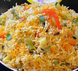 veg pulav rice in marathi