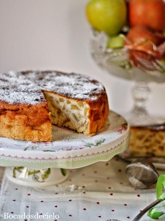 Bocadosdecielo: Sharlotka, tarta de manzana rusa.