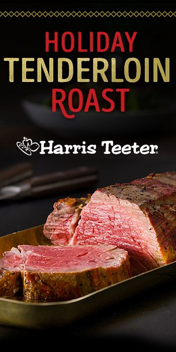 The aroma of fresh thyme and garlic paired with a tender Steakhouse Roast will make this meal a holiday favorite.